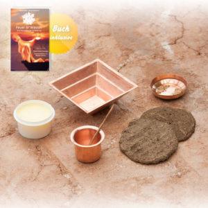 Agnihotra Set mit Buch