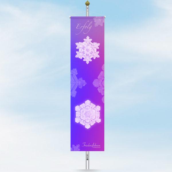 Friedensfahne Bannerfahne Erfolg